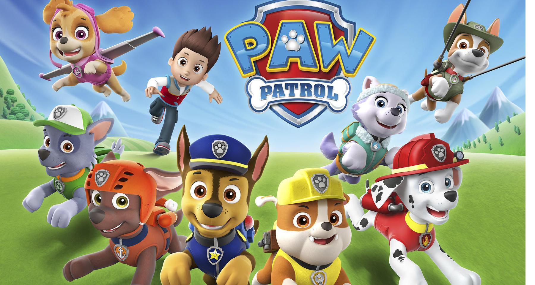Patrolne ĹĄape (Paw Patrol)